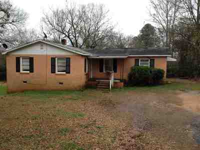 Anderson Single Family Home For Sale: 620 1/2 Carey Street