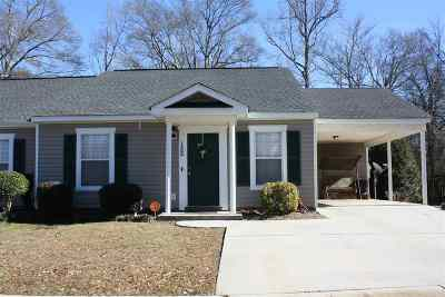 Anderson Single Family Home Under Contract: 152 Caleb Ct.