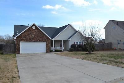 Simpsonville Single Family Home For Sale: 108 Sedgebrook Drive