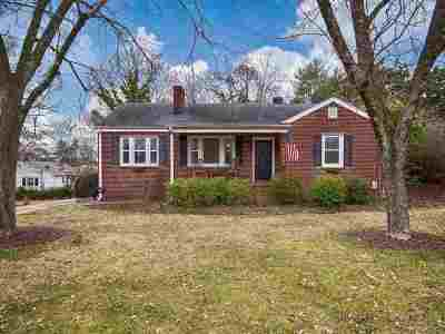 Easley Single Family Home Contract-Take Back-Ups: 306 S B Street
