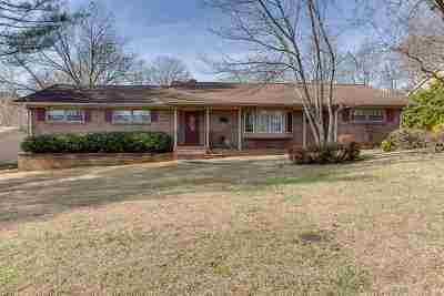 Greenville Single Family Home For Sale: 1 Vista Drive