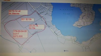 Residential Lots & Land For Sale: 00 Broadway Lake Road