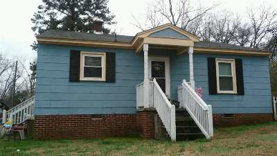 Anderson Single Family Home For Sale: 601 Mauldin St