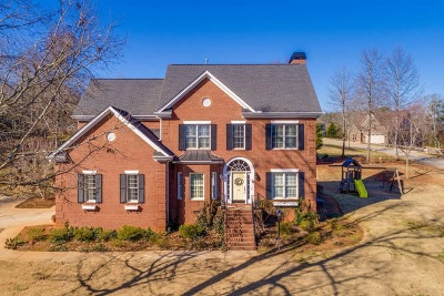 Easley Single Family Home For Sale: 100 Gemstone Trail