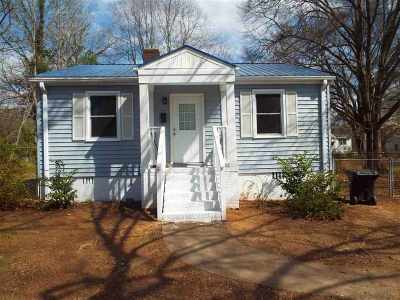 Anderson Single Family Home For Sale: 1916 Inman Dr