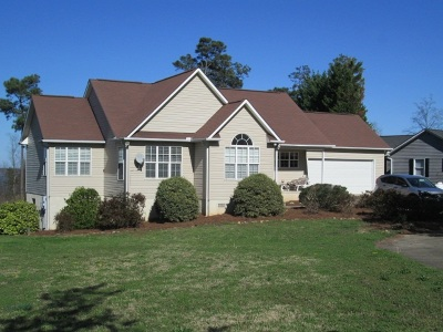 Townville Single Family Home For Sale: 1525 Double Springs Road
