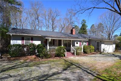 Townville SC Single Family Home For Sale: $150,000