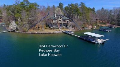 Oconee County, Pickens County Single Family Home For Sale: 324 Fernwood Drive
