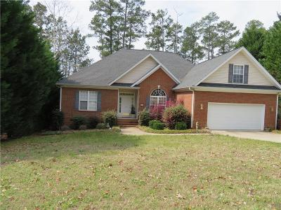 Anderson Single Family Home For Sale: 103 James Lawrence Orr Drive