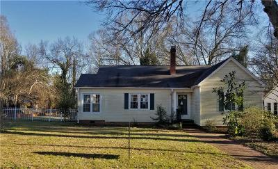 Anderson Single Family Home For Sale: 107 Henry Avenue
