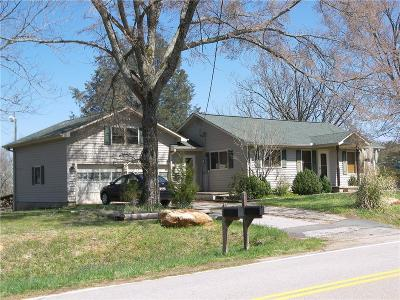 Oconee County, Pickens County Single Family Home For Sale: 570 & 600 Nimmons Bridge Road
