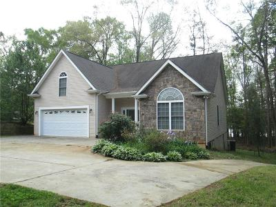 Anderson County, Oconee County, Pickens County Single Family Home For Sale: 4402 Denver Cove Road