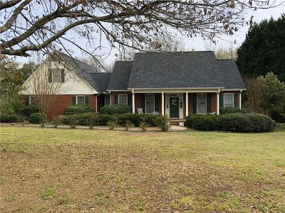 Anderson SC Single Family Home For Sale: $275,000