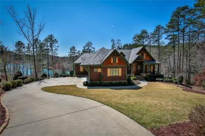 The Reserve At Lake Keowee Single Family Home For Sale: 170 Ellenburg Creek Road