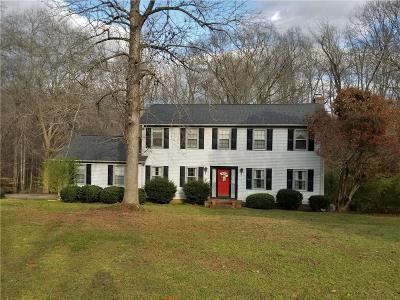 Piedmont Single Family Home Contract-Take Back-Ups: 116 Mill Creek Road