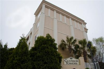 Clemson Towers Condo For Sale: 849 Tiger Boulevard