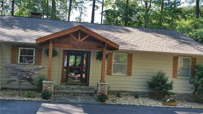 Keowee Key Single Family Home Contract-Take Back-Ups: 4 Short Reach Court