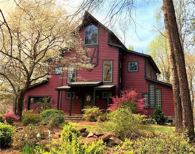 Oconee County Single Family Home Contract-Take Back-Ups: 305 Country Junction Road