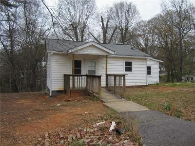Clemson Single Family Home For Sale: 101 Butler Street