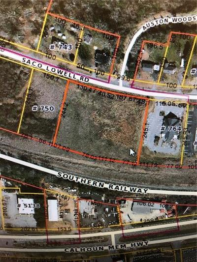 Easley Residential Lots & Land For Sale: 762 S Saco Lowell Road