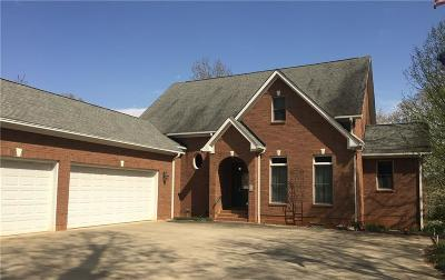 Townville Single Family Home For Sale: 224 Brooks Drive