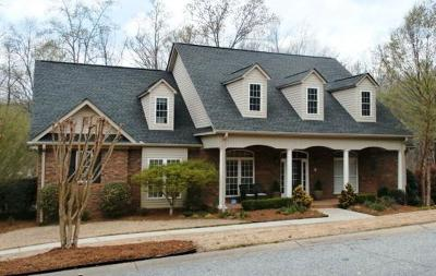 Pickens County Single Family Home Contract-Take Back-Ups: 212 Brookstone Way