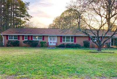 Anderson Single Family Home For Sale: 601 Heyward Road
