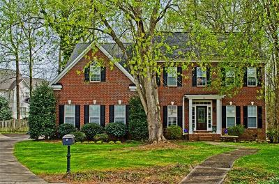 Greenville County Single Family Home Contract-Take Back-Ups: 10 Golden Oak Court