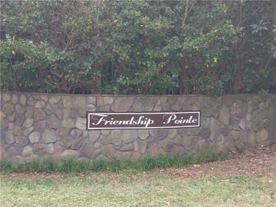 Residential Lots & Land For Sale: 126 Friendship Pointe Drive