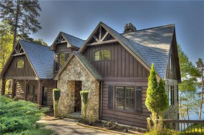 The Reserve At Lake Keowee Single Family Home For Sale: 142 S Falls Road