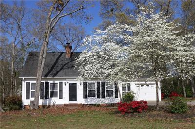 Regency Woods Single Family Home For Sale: 609 Blume Road