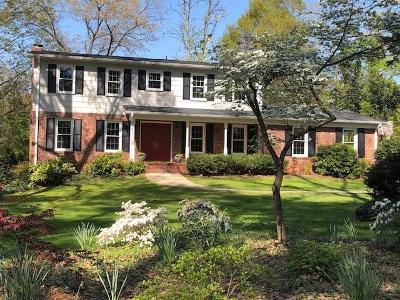 Clemson Single Family Home For Sale: 214 Mountain View Lane