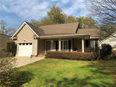 Pendleton Single Family Home For Sale: 133 Grand Oak Circle