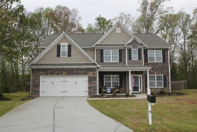 Greenville County Single Family Home Contract-Take Back-Ups: 9 Oxborough Place
