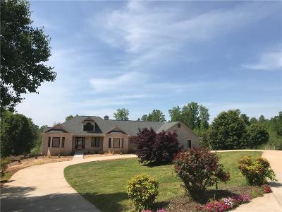 Oconee County Single Family Home For Sale: 1816 Hastehill Drive