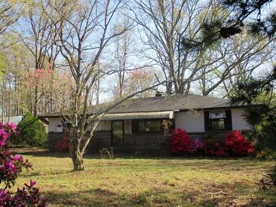 Easley Single Family Home For Sale: 218 Noble Road