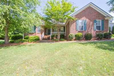 Greenville Single Family Home For Sale: 3 Couples Court