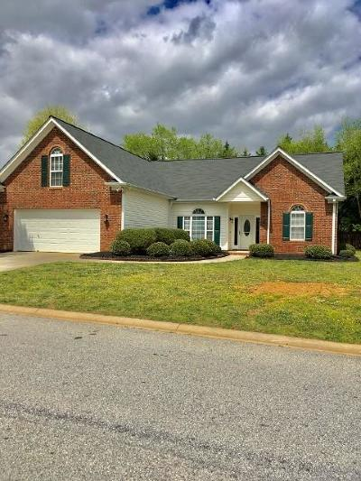 Simpsonville Single Family Home Contract-Take Back-Ups: 400 Walkingstick Way