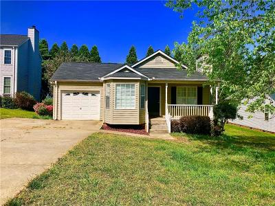Easley SC Single Family Home For Sale: $134,900