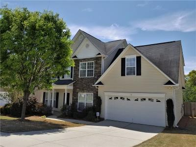 Simpsonville Single Family Home Contract-Take Back-Ups: 6 Cartecay Court