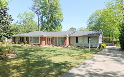 Anderson SC Single Family Home For Sale: $206,000