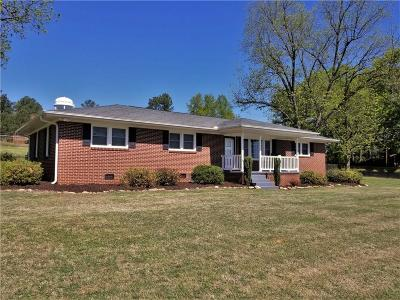 Athens, Anderson Single Family Home For Sale: 2911 Midway Road