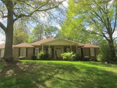Anderson Single Family Home For Sale: 405 Regency Circle