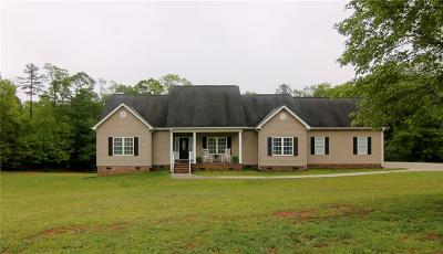 Townville SC Single Family Home Contract-Take Back-Ups: $250,000