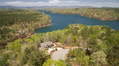 The Reserve At Lake Keowee, Cliffs At Keowee, Cliffs At Keowee Falls North, Cliffs At Keowee Falls South, Cliffs At Keowee Springs, Cliffs At Keowee Vineyards Single Family Home Contract-Take Back-Ups: 350 Long Cove Trail