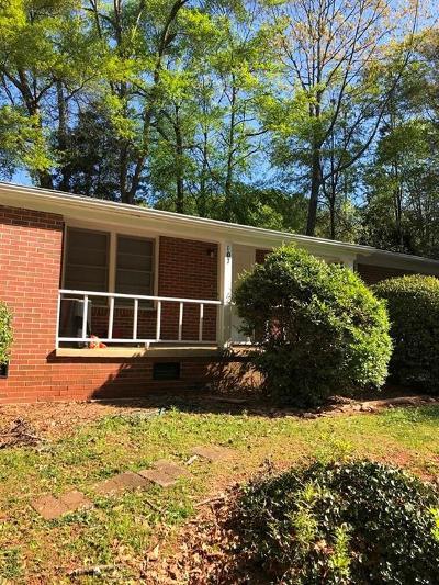 Clemson Rental For Rent: 107 College Heights Boulevard