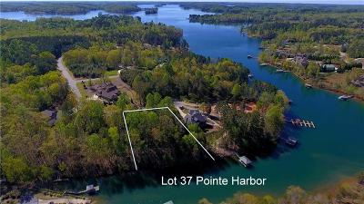 Seneca Residential Lots & Land For Sale: Lot 37 Pointe Harbor Court