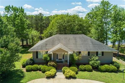 Anderson County, Oconee County, Pickens County Single Family Home For Sale: 519 Island Point Road