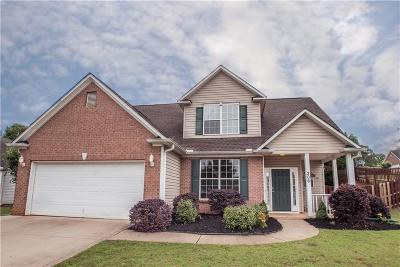 Easley Single Family Home For Sale: 306 Hamilton Parkway