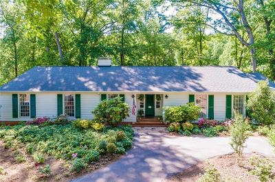 Anderson Single Family Home For Sale: 135 Hammett Acres